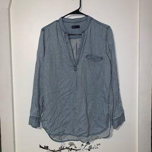 Gap sexy tunic denim shirt
